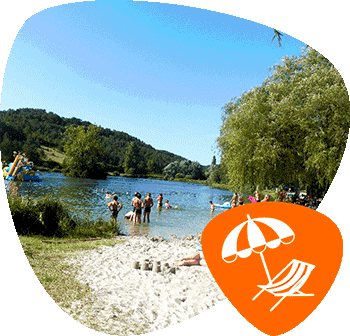 plage-camping-du-lac
