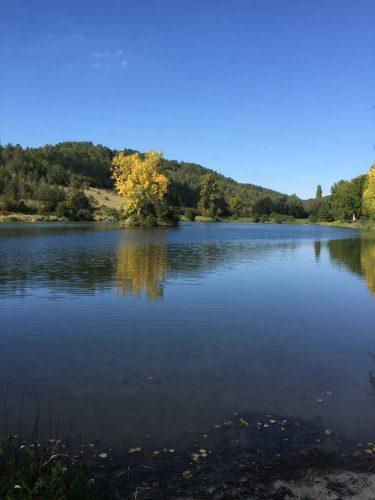 pêche en étang dordogne