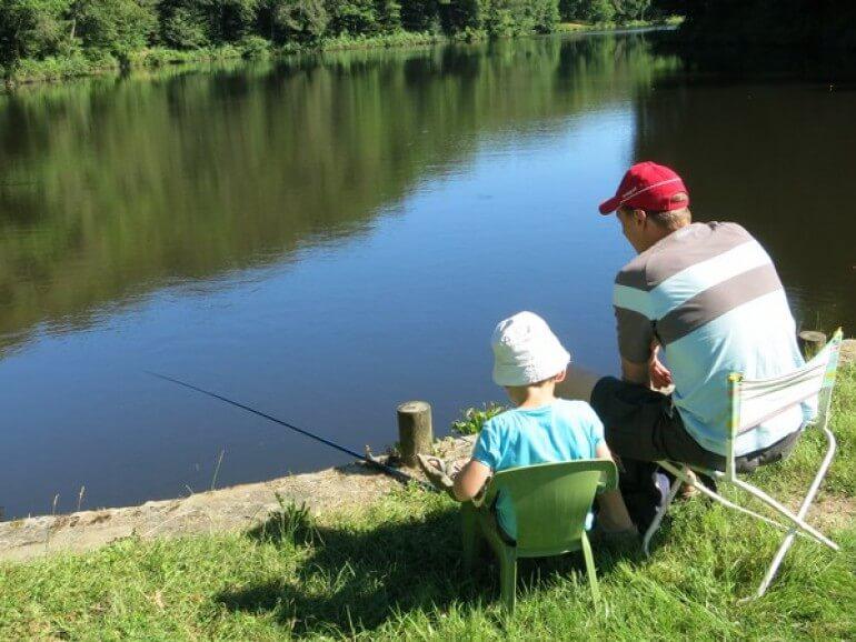 pêche en dordogne