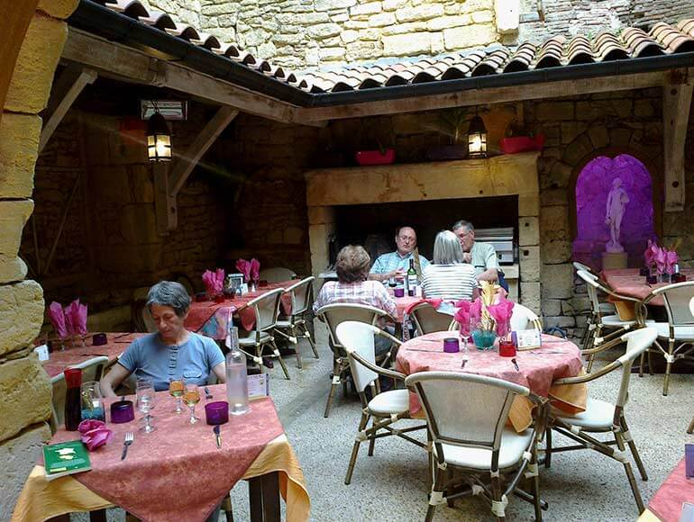 restaurants dordogne